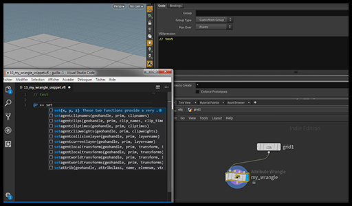 Houdini Expr Editor